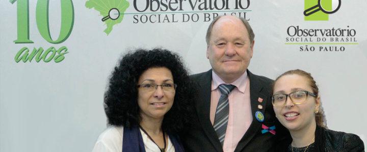 OSBSP participou do 2º Congresso Pacto pelo Brasil e 9º ENOS em Curitiba